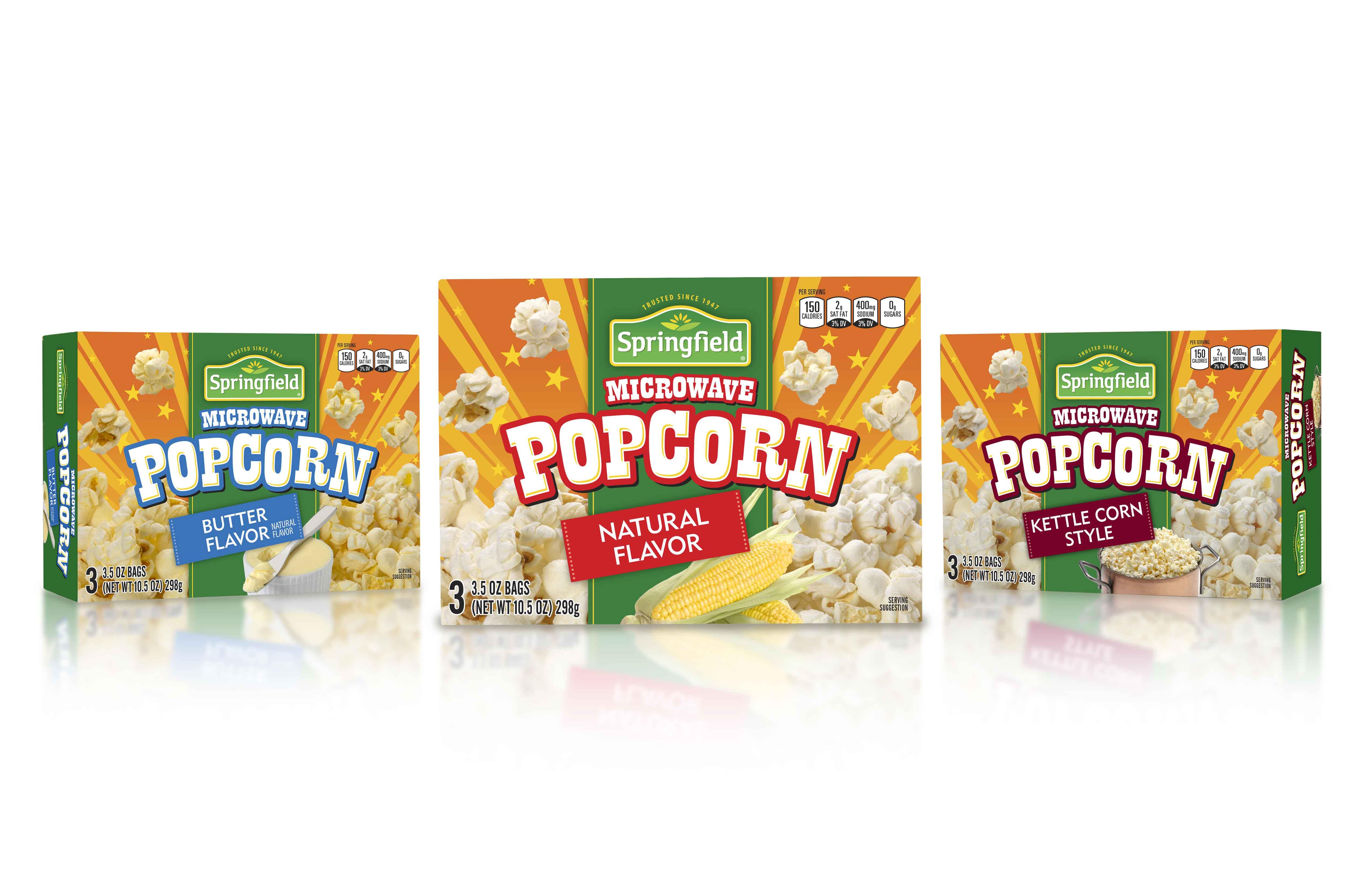 Springfield Popcorn Design