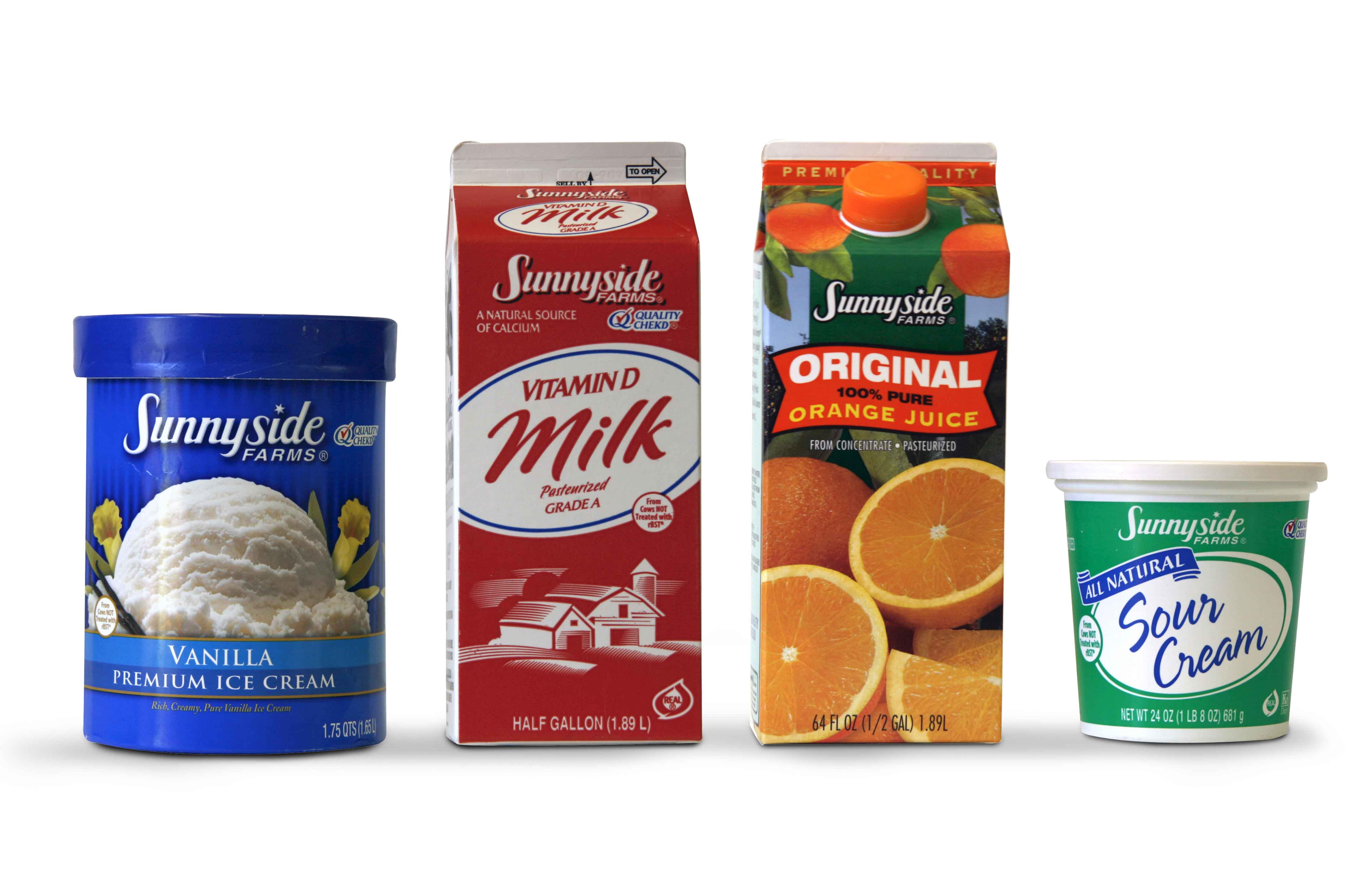 Sunnyside Farms Packaging